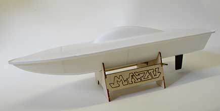 Mazu modelarski rc čoln
